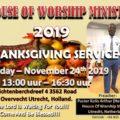 2019 THANKSGIVING SERVICE